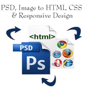 PSD to HTML and Responsive Design