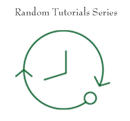 Random Free Tutorial Series